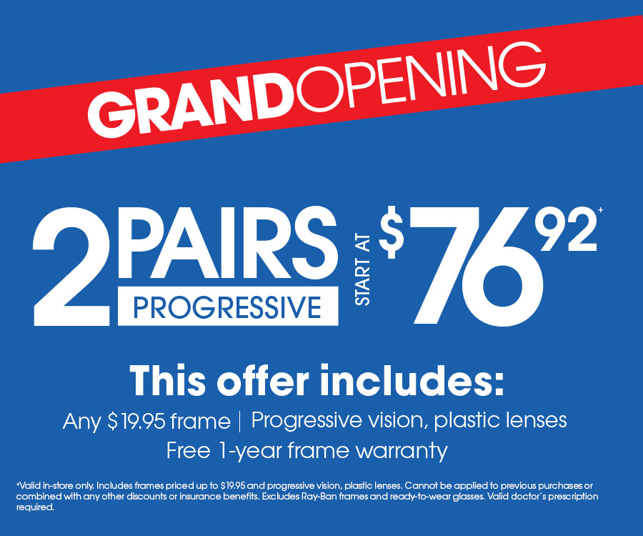 4b9245a3307 Eyemart Express - Valid in-store only. Includes frames priced up to ...