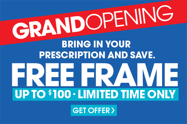 Some restrictions apply. Must purchase prescription lenses to redeem offer. Valid prescription required. Cannot be combined with any other discounts or insurance benefits. Single vision plastic lenses start at $39.95 per pair and progressive plastic lenses start at $109.95 per pair. Includes frames priced $100 or less. Limit 1 coupon per customer. Must present coupon at time of purchase. Eye Exams are available by Independent Doctors of Optometry at or next to Eyemart Express in most states. Valid only at the Dallas store.