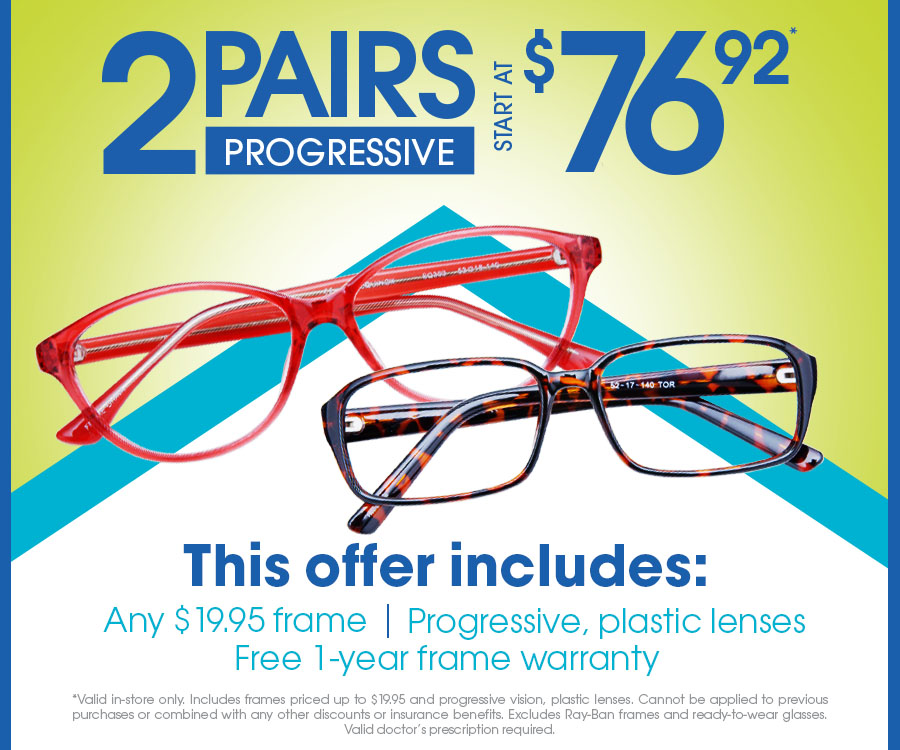 40f1631d706 Eyemart Express - Valid in-store only. Includes frames priced up to ...